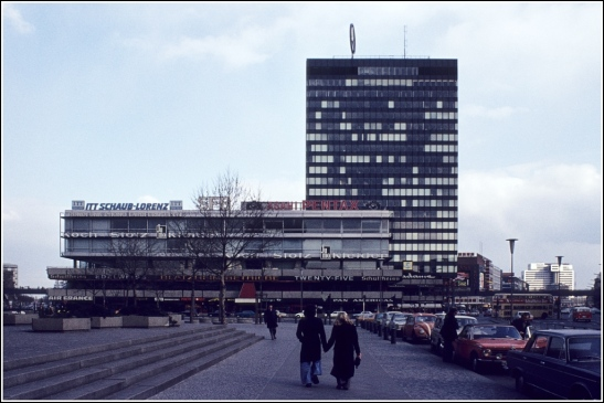 Europa-Center in the 1970s (image by Helmut Seger)