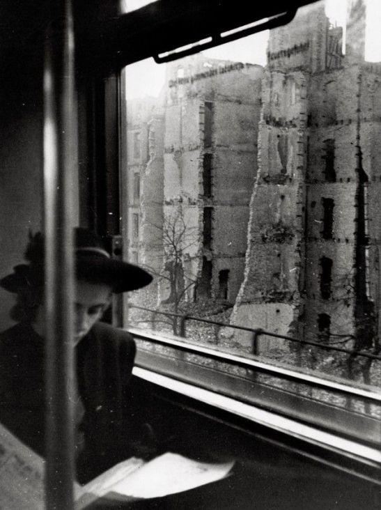 gerd baatz woman on the s-bahn 1945 or 1946