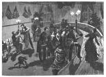 Rundkegelbahn in Moabit, 1885
