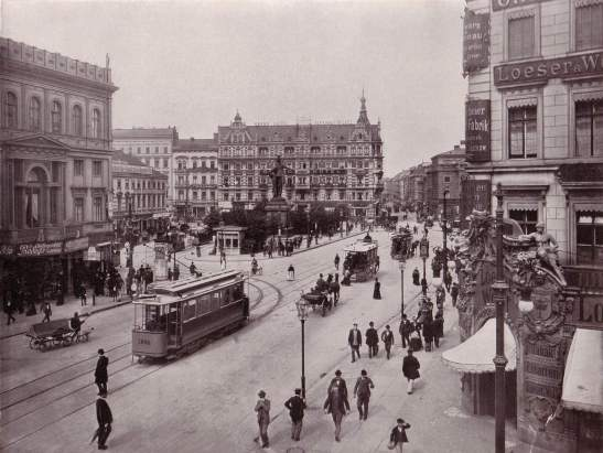 Alexanderplatz in 1903.