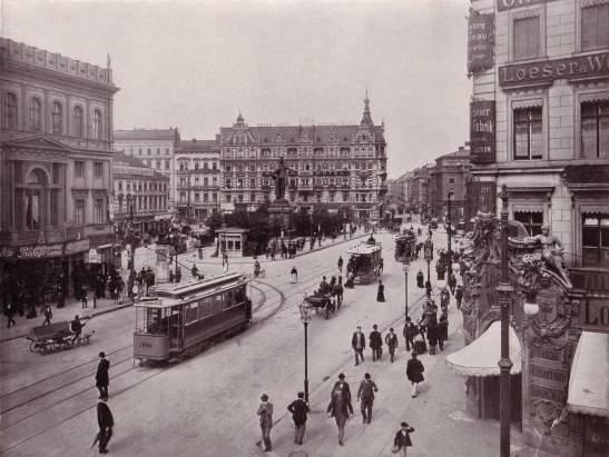 Alexanderplatz in 1903.