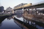 Landwehrkanal at Möckernbrücke in 1986.
