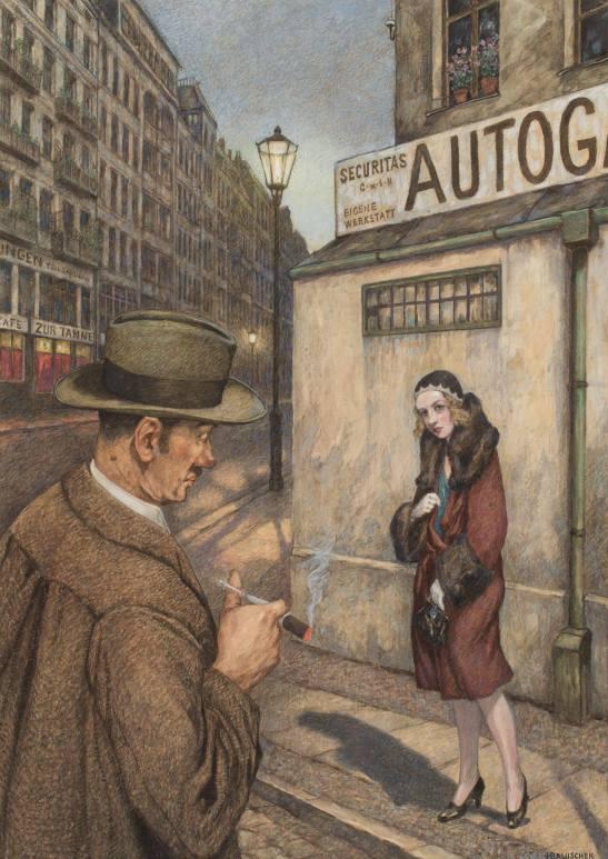 "Hans Baluschek ""Morgengrauen"" (Stadtmuseum Berlin)"
