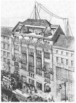 VOX-Haus in Potsdamer Strasse 4 (today No. 10 and the location of the Kalkhoff Tower).
