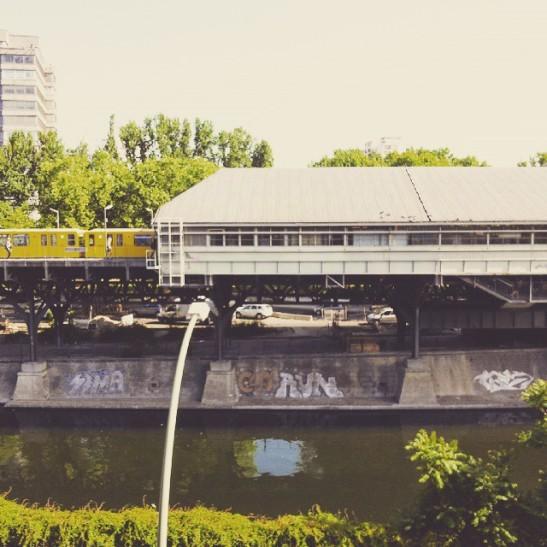 U1 Line station Hallesches Tor (image by notmsparker)