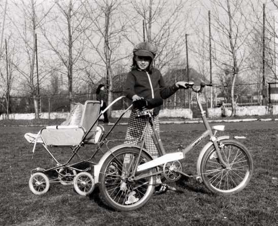 A little Communist, Notmsparker, in Poland in April of  1980.