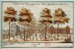 Lindenallee (later Unter den Linden) in 1691