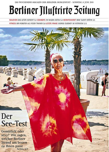 Strandbad Wannsee photographed for the Berliner Illustrirte Zeitung in 2008 by Christian Schroth.