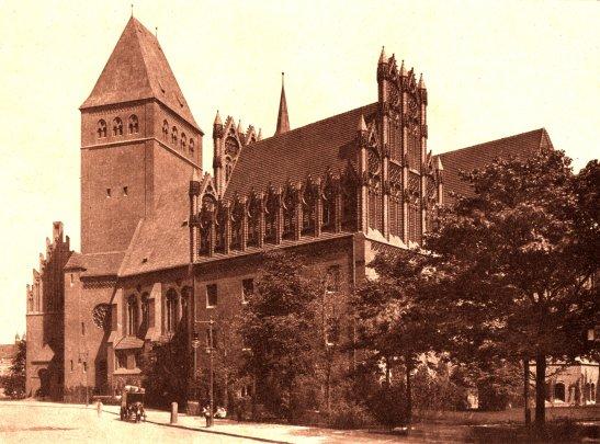 Image: Märkisches Museum in 1908 (photo by Ernst von Brauchitsch).