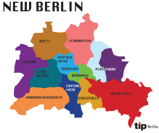 "Published by the city magazine ""TIPP"" and brought to our attention by Notes of Berlin:-)"