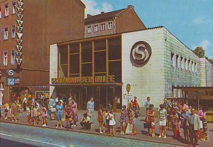 S-Bahnhof Schönhauser Allee in the 1970s