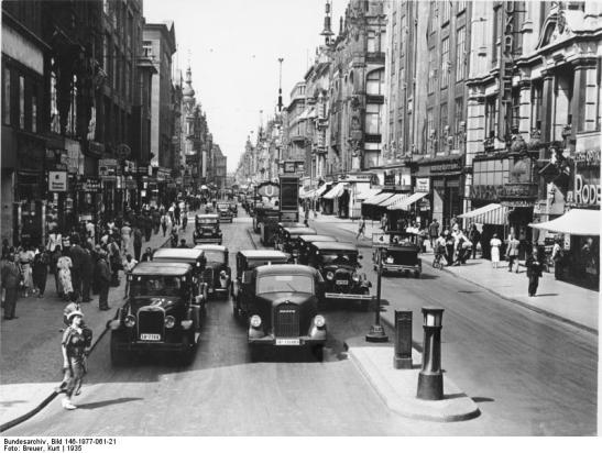 Berlin, Friedrichstraße, Ecke Leipzigerstraße