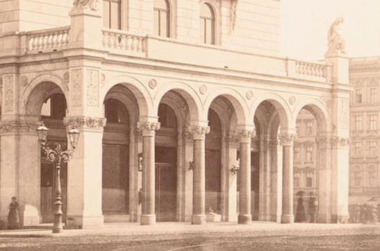 """The eastern """"Magistratsklavier"""" at Hallesches Tor captured in 1880 by Hermann Rückwardt (image through Architekturmuseum, TU Berlin)"""