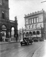 "Traffic in Hallesches Ufer before Strack´s ""Magistratsklaviere"" in 1928 (image through Landesarchiv, Berlin)"