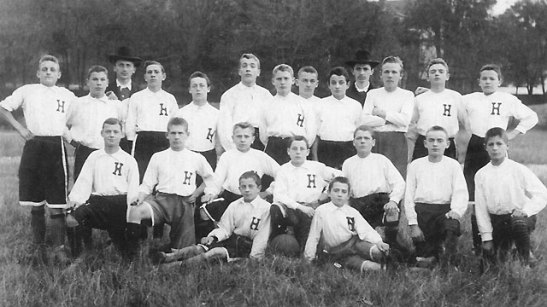 Hertha´s original team (image through the club´s web page of herthabsc.de)