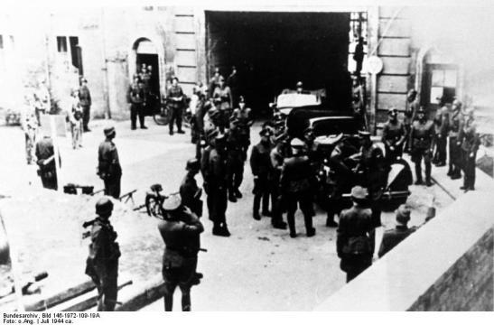 Bendlerblock on July 21, 1944 (image through Bundesarchiv).