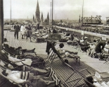 Berlin, Wittenbergplatz, KaDeWe Dachgarten, 1932. Fotograf unbekannt.