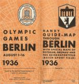 handy map for the olympics 1936