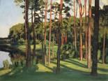 Märkische Landschaft (Landscape of the Mark Brandenburg), 1896.