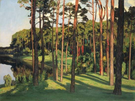 Märkische Landschaft (Landscape of the Mark Brandenburg), 1896.
