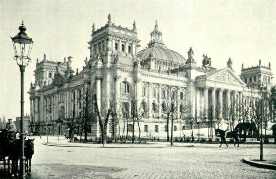 Reichstag in 1895