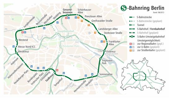 S-Bahn Ring today (image through S-Bahn).