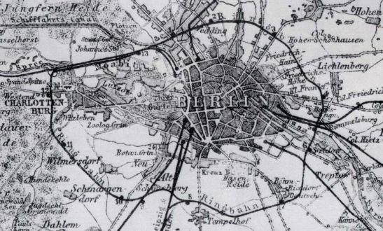 Berliner Ringbahn in 1881