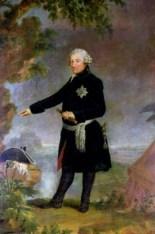 1772 portrait of Friedrich II by Anna Dorothea Therbusch.