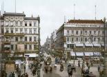 Unter den Linden and Cafe Viktoria around 1900