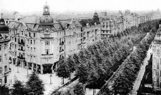Ku´damm 188-192 in 1910.