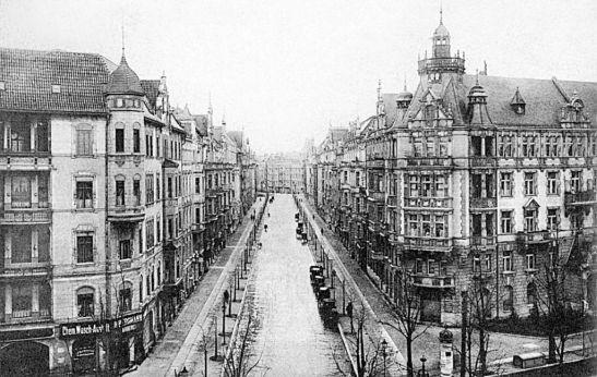 Kurfürstendamm corner Meinekestraße in 1910.