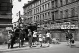 Corner Luckauer Straße and Sebastianstraße photographed by Willy Pragher on June 9, 1965 (image through Landesarchiv Baden-Würtemberg W 134 Nr. 078754a).