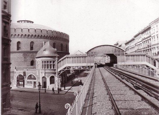 Bhf Prinzenstraße around 1901.