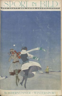 sport im bild 1923 winterausgabe