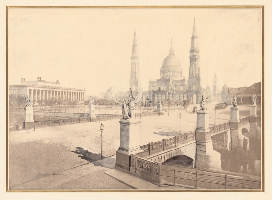 Orth August  (1828-1901): Berliner Dom
