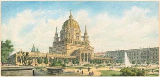 Adler Friedrich  (1827-1908): Berliner Dom